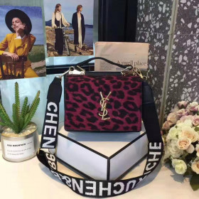 YSL Leopard Red